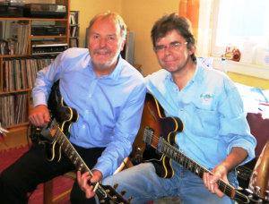 mit Joschi Pevny (Jazzgitarre)