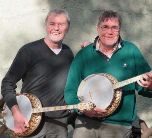 Mit Bernd K. Otto (Tenorbanjo) in der Rhön